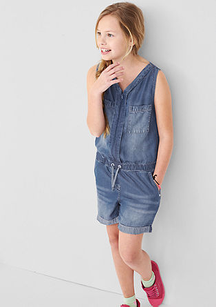 Overall in Jeans-Optik