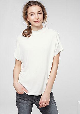 Oversize-Shirt mit Stehkragen