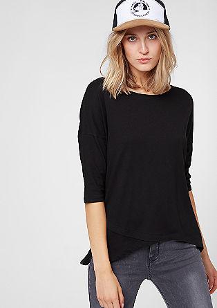 Oversize-Shirt mit Zipp-Details