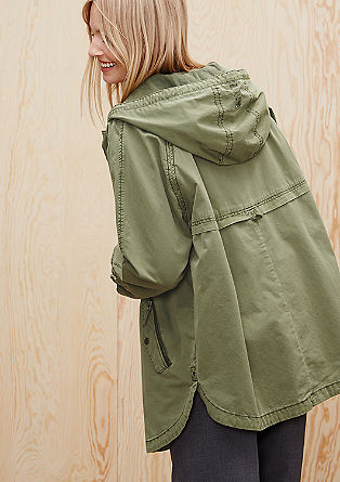Oversized parka from s.Oliver