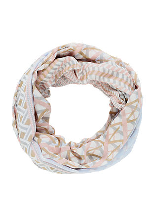 Oversized snood with a pattern from s.Oliver