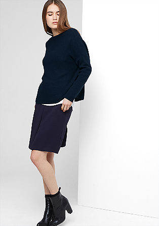Oversized textured knit jumper from s.Oliver