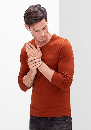 Ozka majica dolg rokav iz džersija