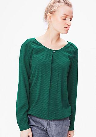 Padajoča bluzna srajca