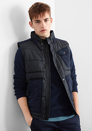 Padded body warmer from s.Oliver