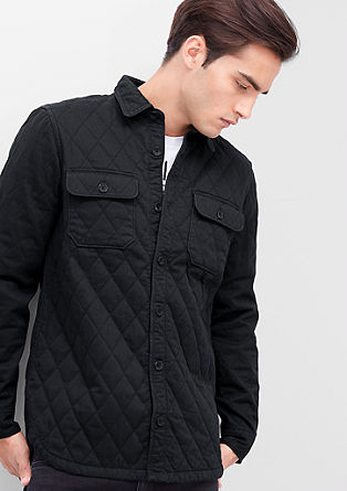 Padded light jacket with topstitching from s.Oliver