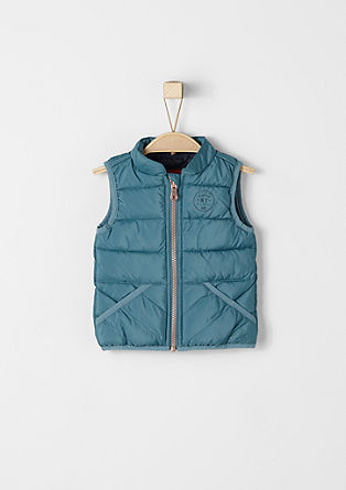 Padded quilted body warmer from s.Oliver