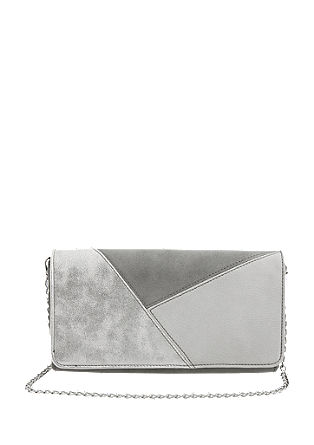 Panelled clutch from s.Oliver