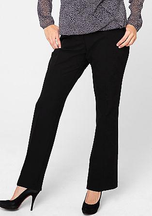 Pantalon met rechte pijpen