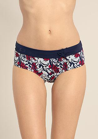 Panty mit Schleife am Bund