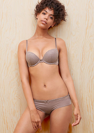 Panty mit Spitze