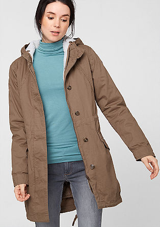 Parka with removable lining from s.Oliver