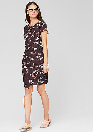 Patterned dress from s.Oliver