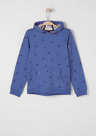 Patterned hoodie from s.Oliver