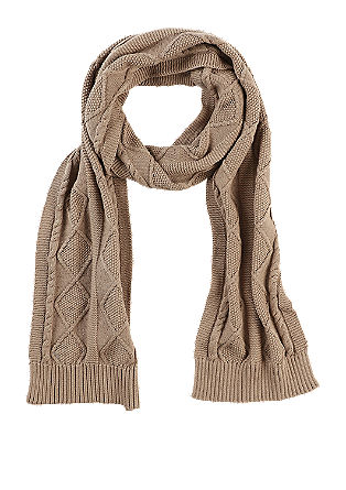 Patterned knit scarf from s.Oliver