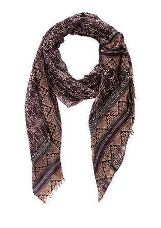 Patterned oversized scarf from s.Oliver
