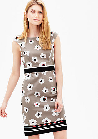 Patterned sheath dress from s.Oliver