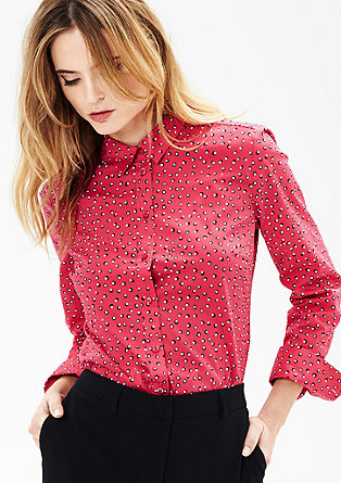 Patterned shirt blouse from s.Oliver