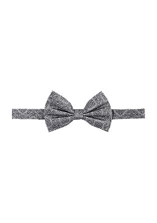 Patterned silk bow tie from s.Oliver