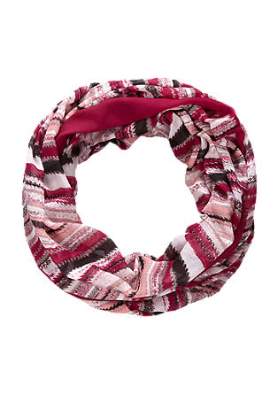 Patterned snood from s.Oliver