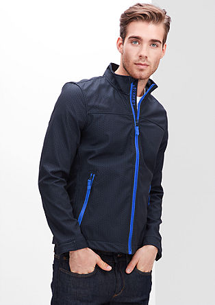 Patterned softshell jacket from s.Oliver