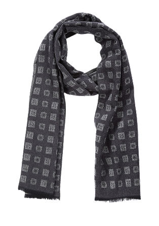 Patterned viscose scarf from s.Oliver