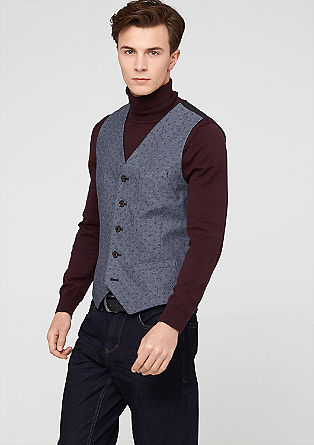 Patterned waistcoat from s.Oliver