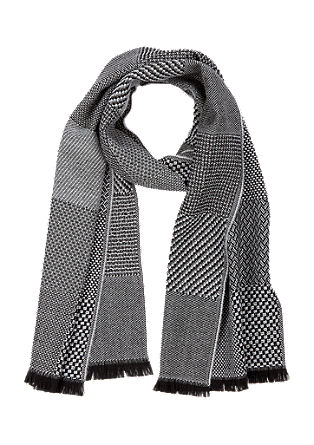 Patterned woven scarf from s.Oliver