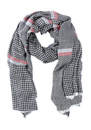 Patterned XXL scarf from s.Oliver