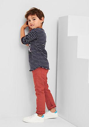Pelle: Barvne jeans hlače