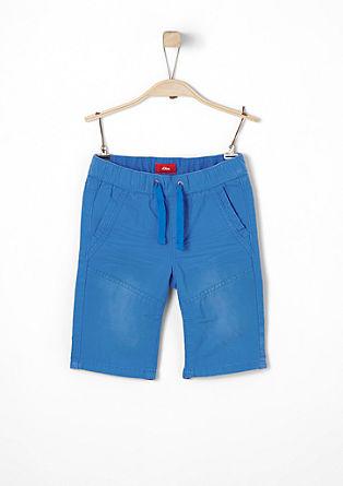 Pelle: broek met 3/4-pijpen en elastische tailleband