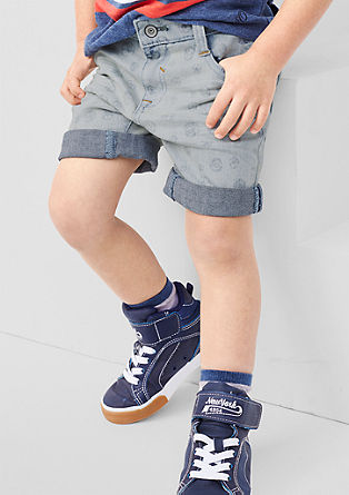 Pelle: Denim-Shorts mit Stretch