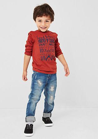 Pelle: Jeans hlače raztrganega videza