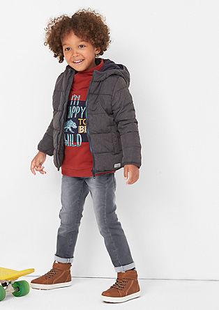 Pelle: Jeans mit Streifenstruktur