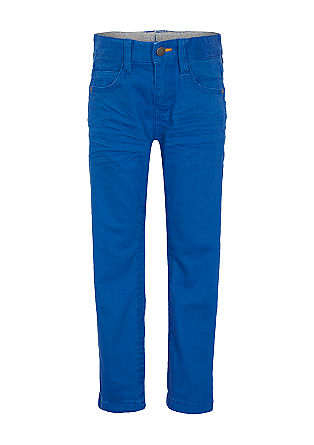 Pelle: Soft, warm twill trousers from s.Oliver