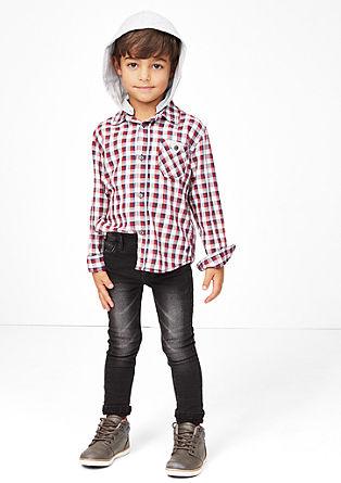 Pelle: temne jeans hlače