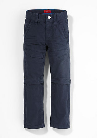 Pelle: Trousers with detachable legs from s.Oliver