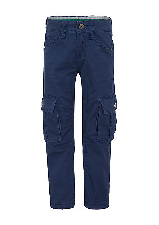 Pelle: twill trousers with fleece lining from s.Oliver