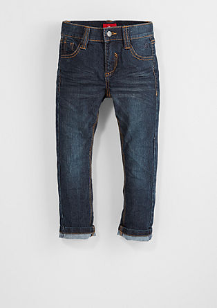 Pelle straight: stretchjeans