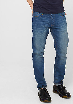 Pete Regular: blue vintage jeans from s.Oliver