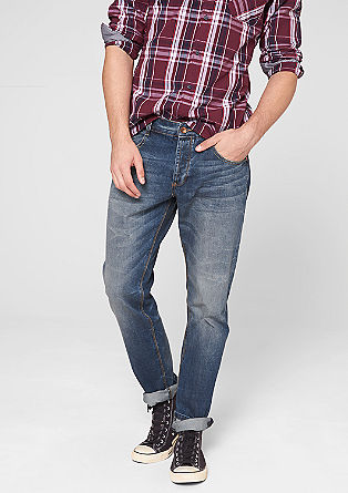 Pete Straight: crease effect jeans from s.Oliver