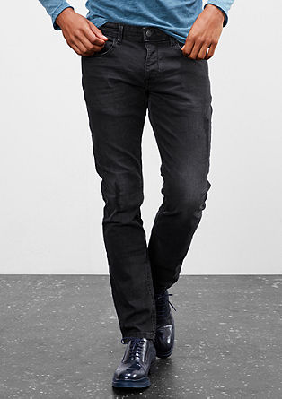 Pete Straight: Dunkelgraue Denim