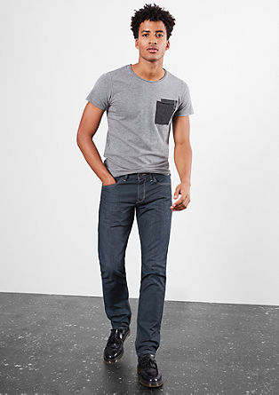 Pete Straight: Dunkle Denim