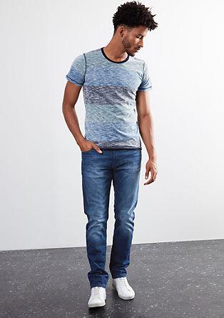 Pete straight: jeans in een used look