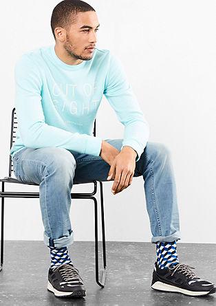 Pete straight: lichte jeans