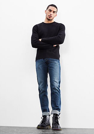 Pete Straight: non-stretch jeans from s.Oliver