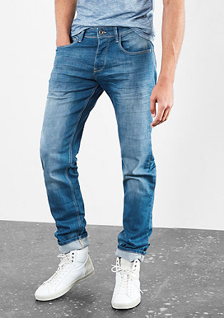 Pete Straight: ohlapne modre jeans