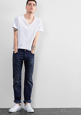 Pete Straight: temne drzne jeans hlače