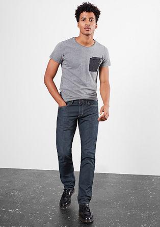 Pete Straight: temne jeans hlače