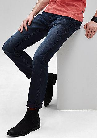 Pete Straight: temno modre jeans